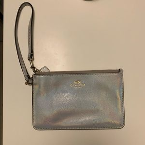 Coach Holographic Coin Purse/Wristlet
